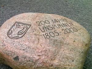 Un'incisione celelbra il 200° del festival